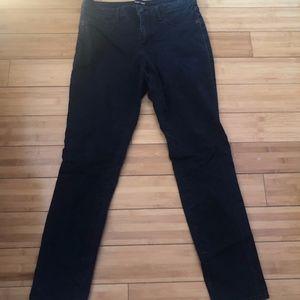 Dark Blue Roz&Ali Skinny Jeans Size 8
